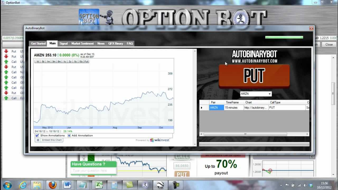 Binary options trading live signals robot free download 2014