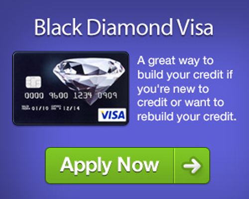 Credit Cards For Bad Credit >> Black Diamond Visa Review Uk Secured Credit Cards For Bad