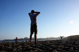 beach-standing