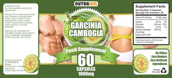 Nutrasun Garcinia Cambogia review