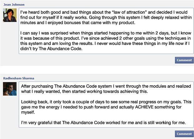 The Abundance Code Reviews