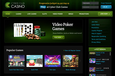 Cyber Club Casino reviews