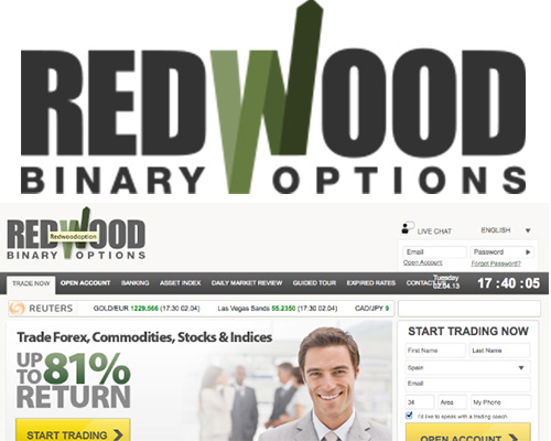 Redwood binary options scam
