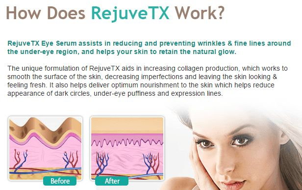 RejuveTX Facial Serum Reviews
