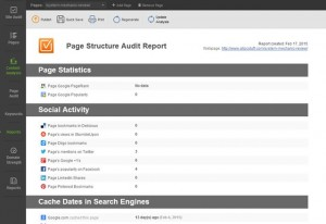 How Website Auditor does works?