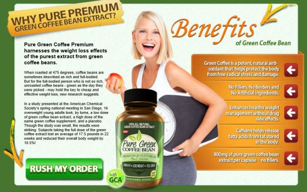 Pure Green Coffee Bean Premium Review
