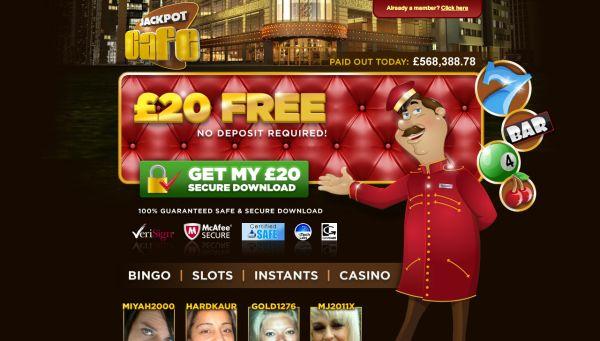 Jackpot Cafe UK