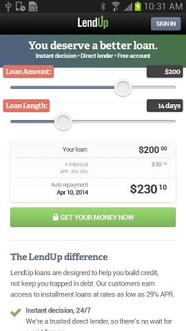 LendUp Payday Loans