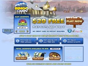 Bingo cabin mobile