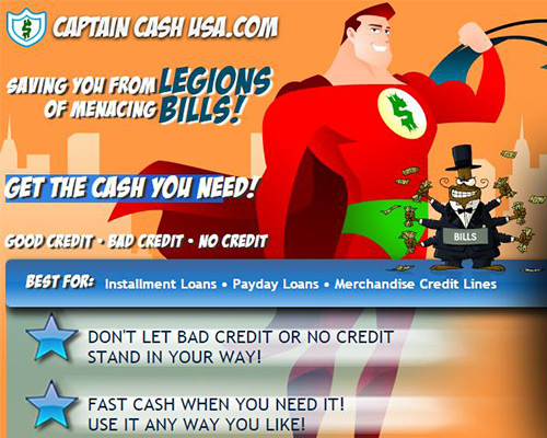 captain cash usa review