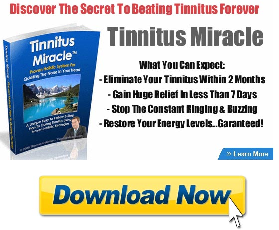 How does tinnitus miracle work?