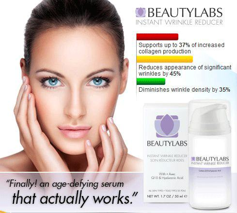 Beauty labs instant wrinkle reducer