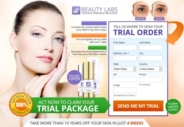 Beauty labs free trial