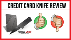 Credit Card Knife Review