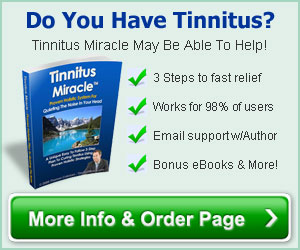 Tinnitus Miracle advantages