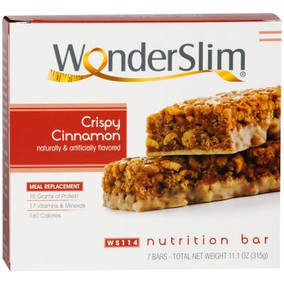 WonderSlim Meal Replacement Food Bars