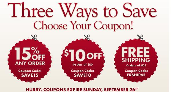 Coupon personalized mall
