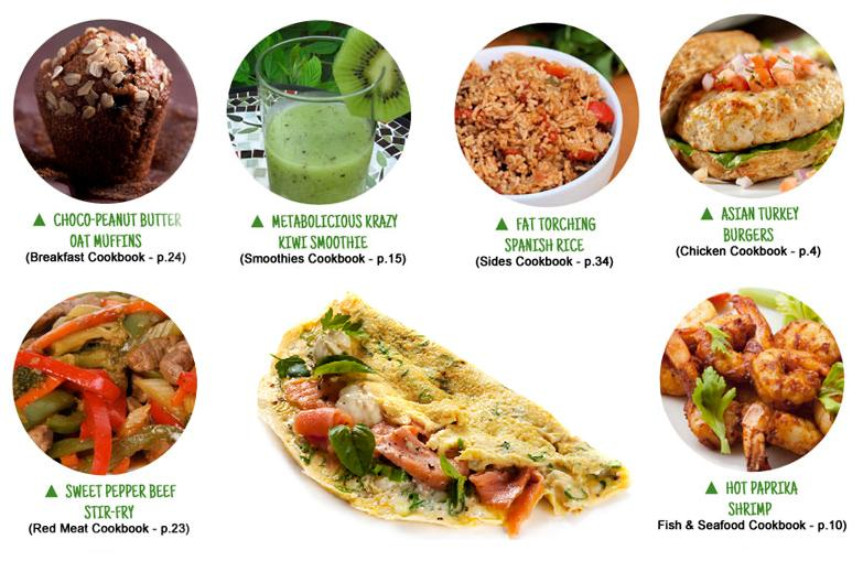 Metabolic Cooking Recipes