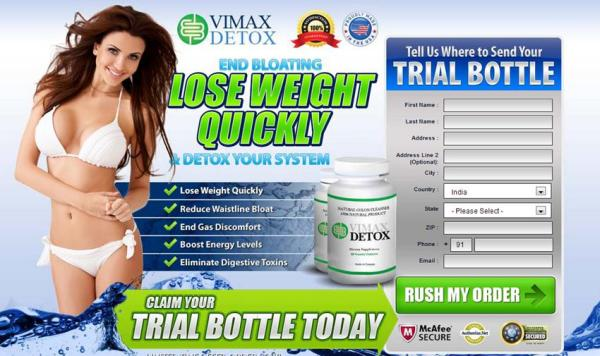 Vimax Detox Side Effects