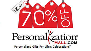 Coupon codes for personalization mall