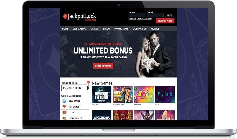 Jackpot Luck deposit