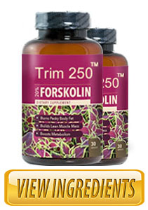 Trim 250 Forskolin Reviews