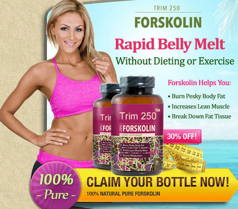 Trim 250 Forskolin Ingredients
