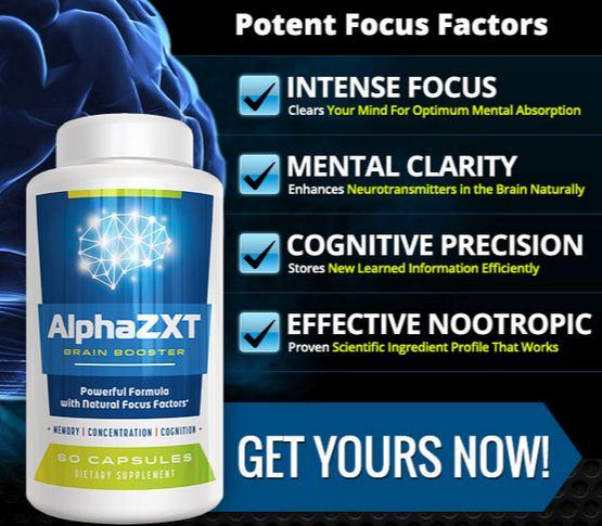 Alpha ZXT Brain Booster