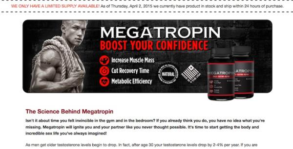 Does megatropin work?
