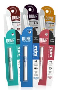 Dune Electronic cigarettes: Pros