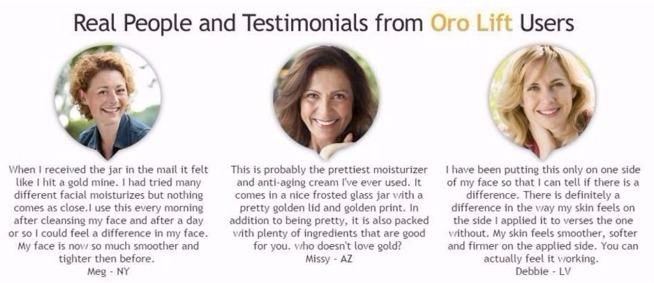 Oro lift skin care