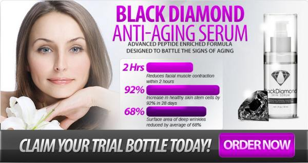 Black diamond skin serum