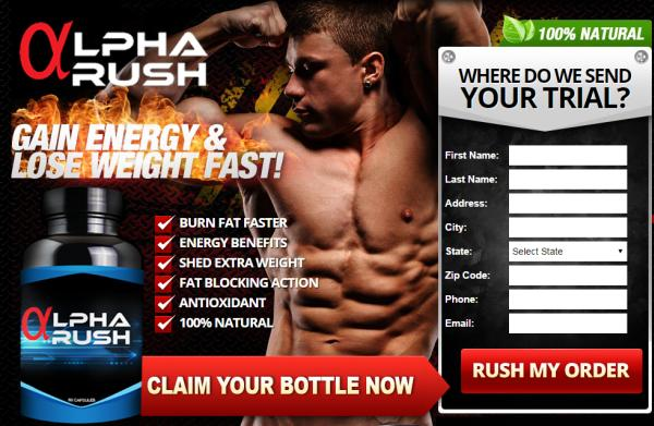 Alpha rush pro ingredients