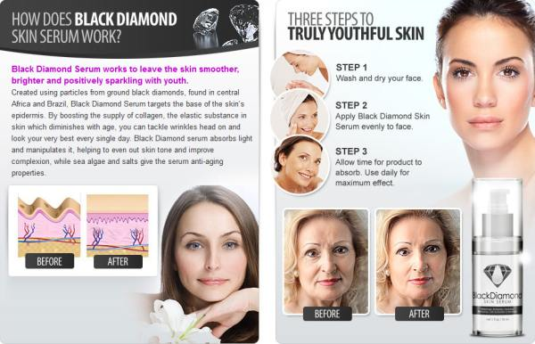 Black diamond skin serum ingredients