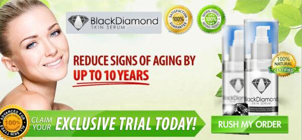 Black diamond face serum