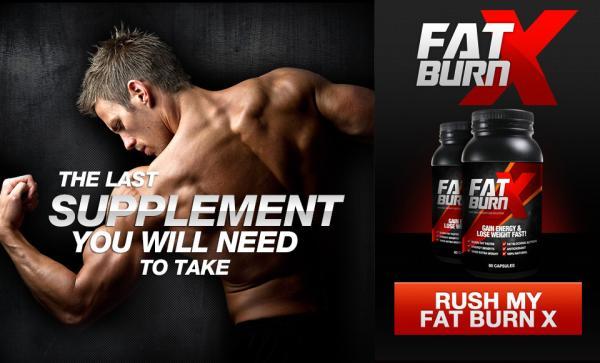 Fat burn x ingredients