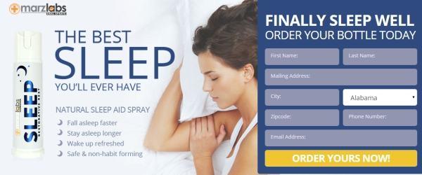 Marz Sleep Spray