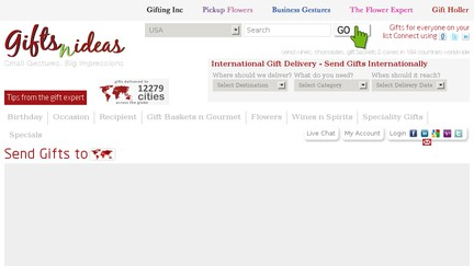 What is giftsnideas?