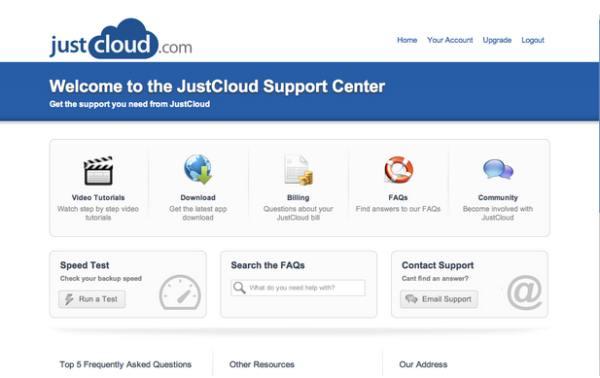 Just Cloud Price plans: