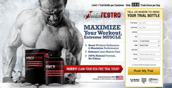 Power testro ingredients