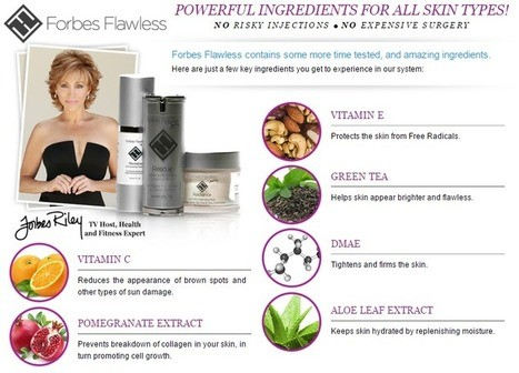 Forbes Flawless Ingredients
