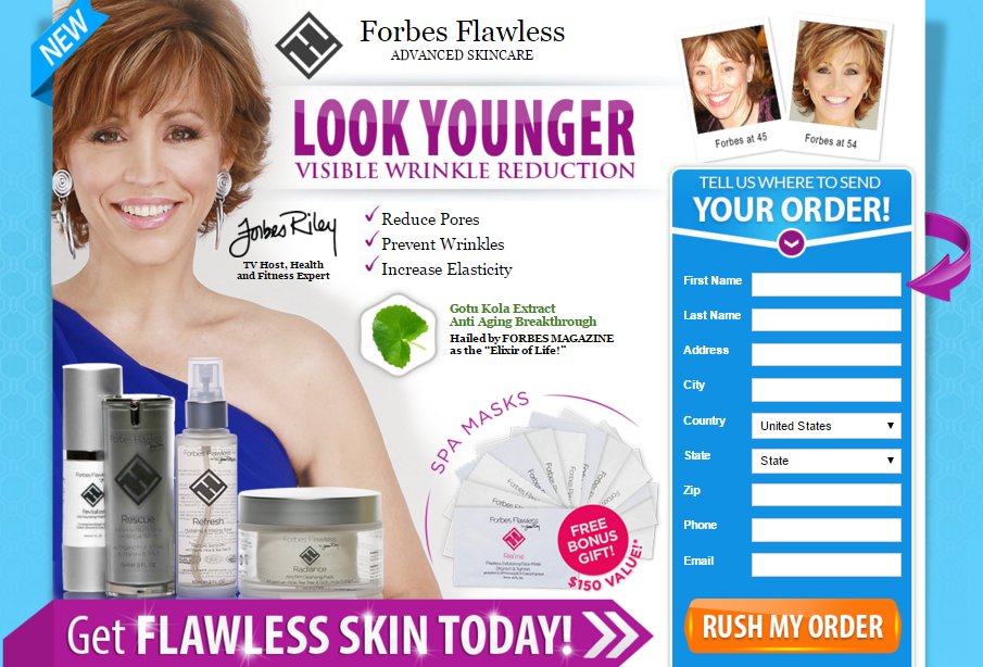 Forbes Flawless for Smooth Skin