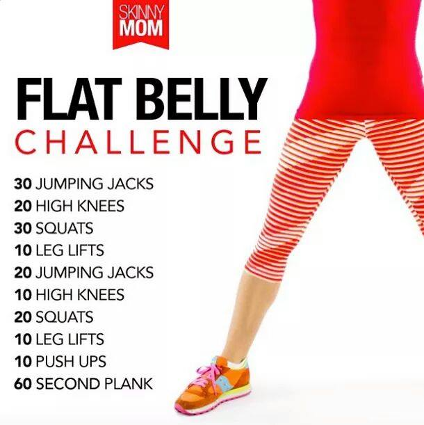 'Flat Belly Challenge'