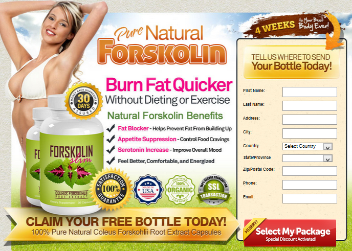 Forskolin Slim Reviews