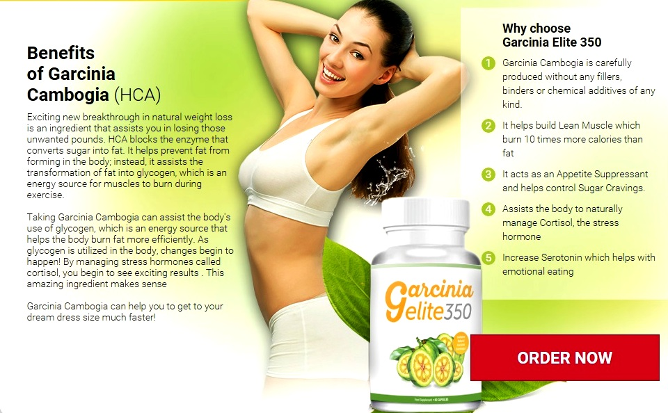Garcinia Elite 350 Ingredients