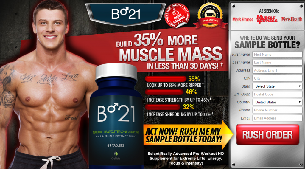 B 21 Testosterone Reviews