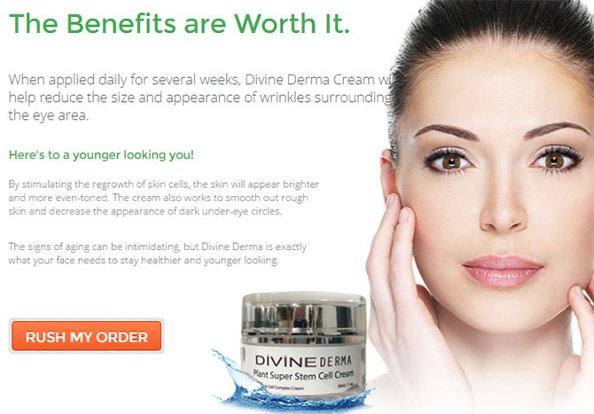 Divine Derma Ingredients