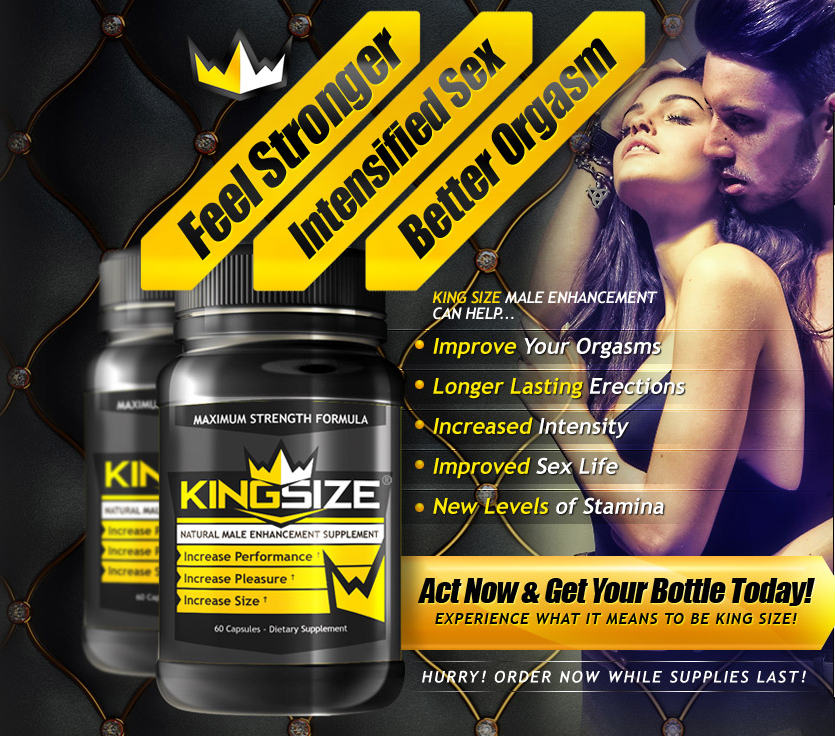 King Size Male Enhancement Pills Reviews  What Is It